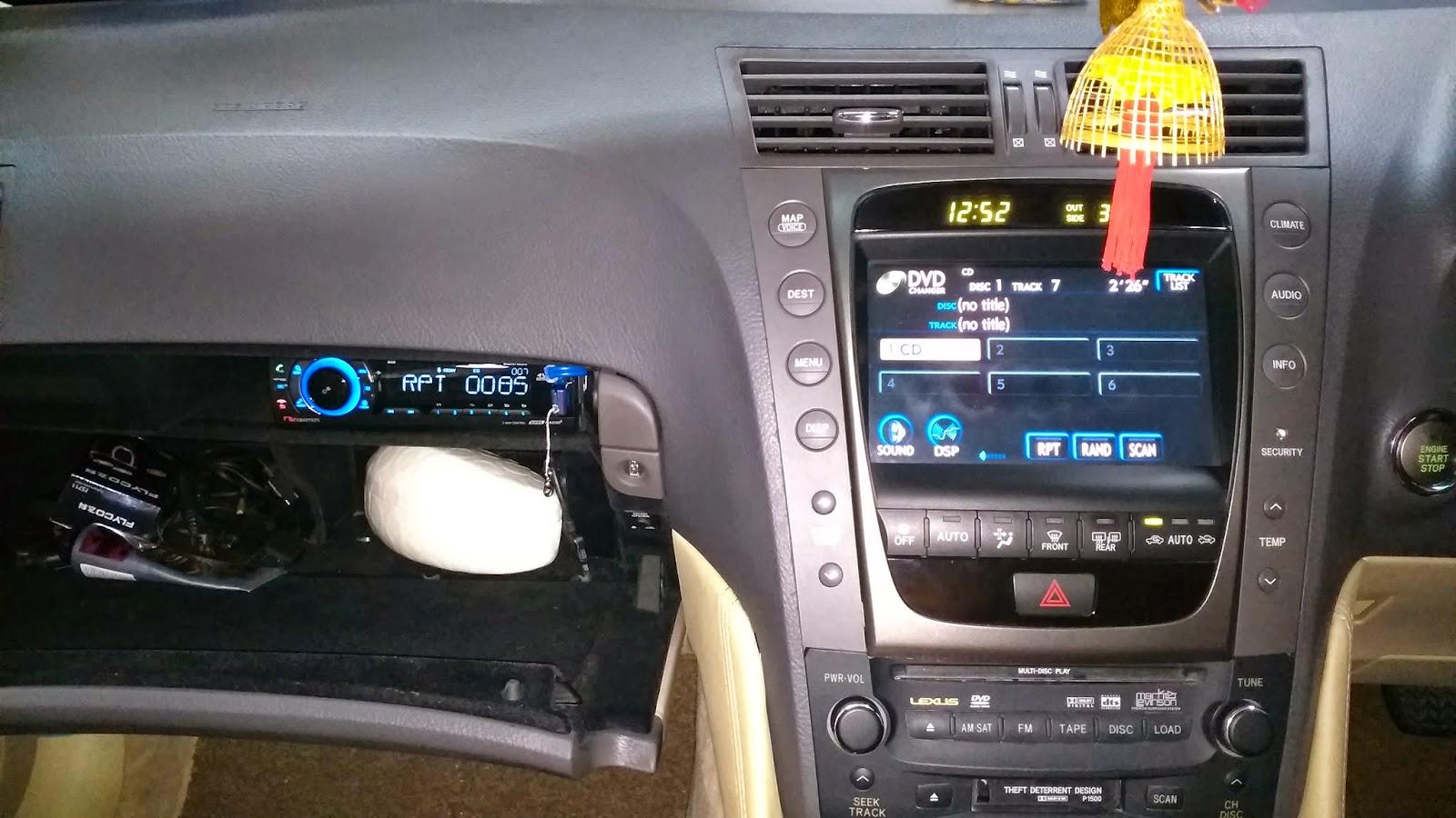 EB AUDIO: lexus gs300 Mark Levinson car audio /passive crossover