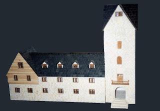 maquetas de edificios, reproduccion de edificios, maquetas en telgopor
