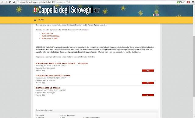 Como visitar a Cappella Scrovegni em Padova