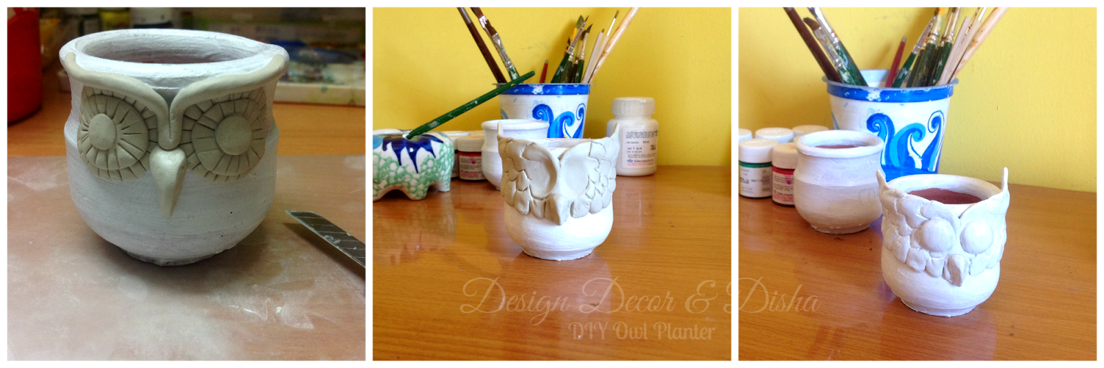 Owl Planter Tutorial