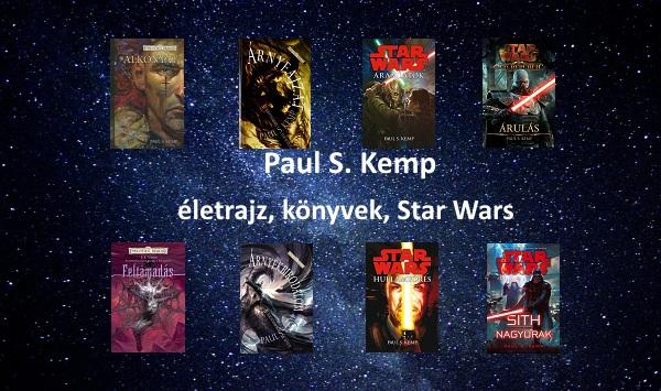 Paul S. Kemp életrajz, könyvek, Star Wars