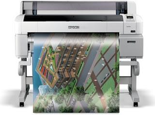 Epson SureColor SC-T5070 Printer Driver Windows, Mac