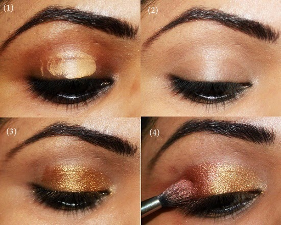 Best Indian Bridal Eye Makeup Step By Step Pictorial