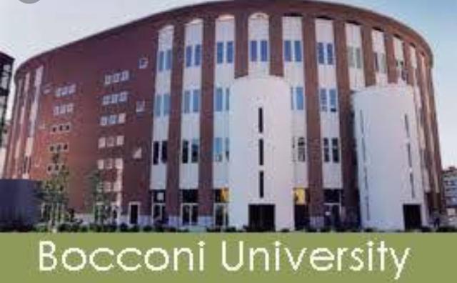 Bocconi Undergraduate Merit Awards - Bocconi University Milan