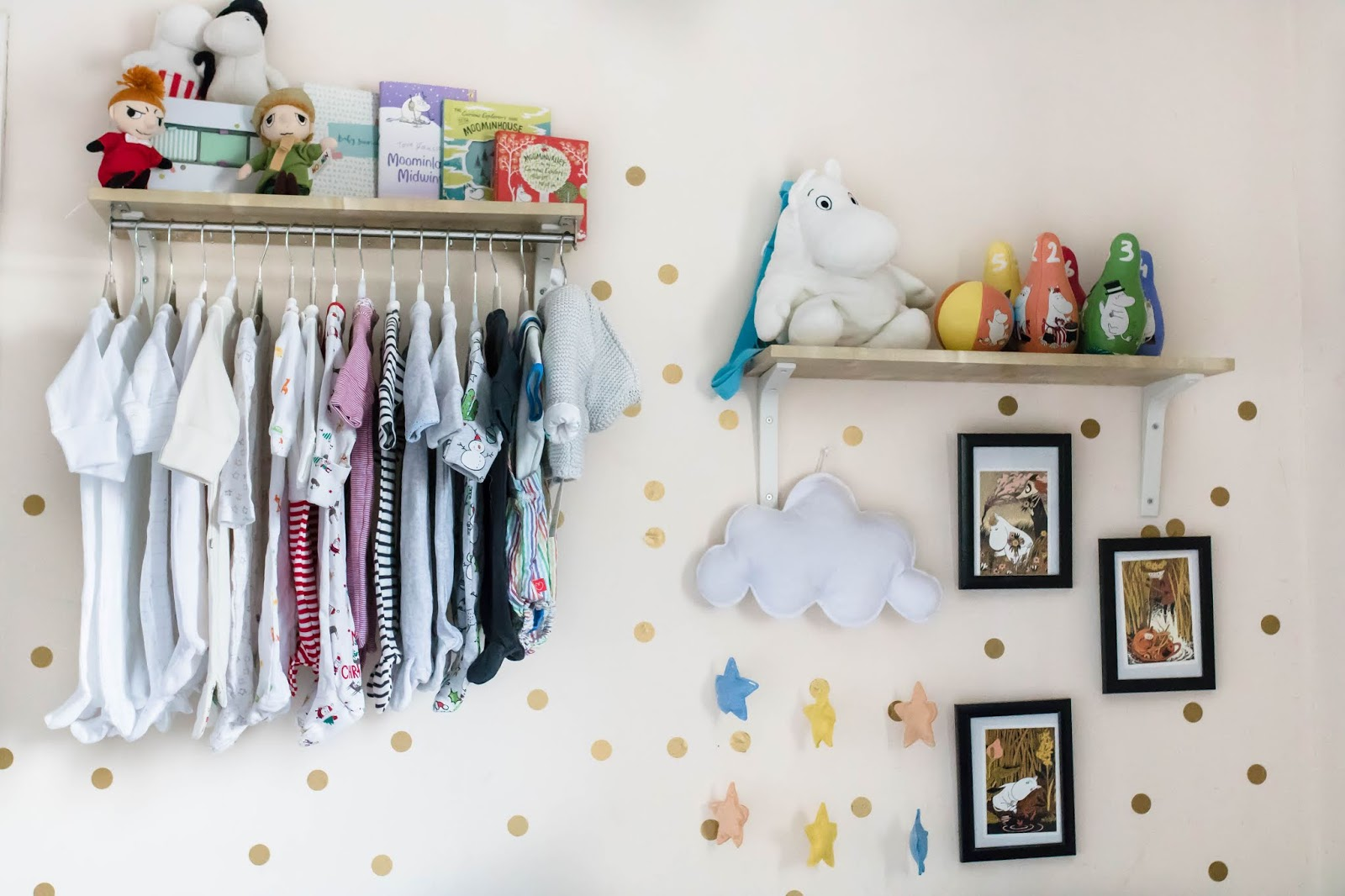 A Moomin Nursery Space Update Baby Number Three The