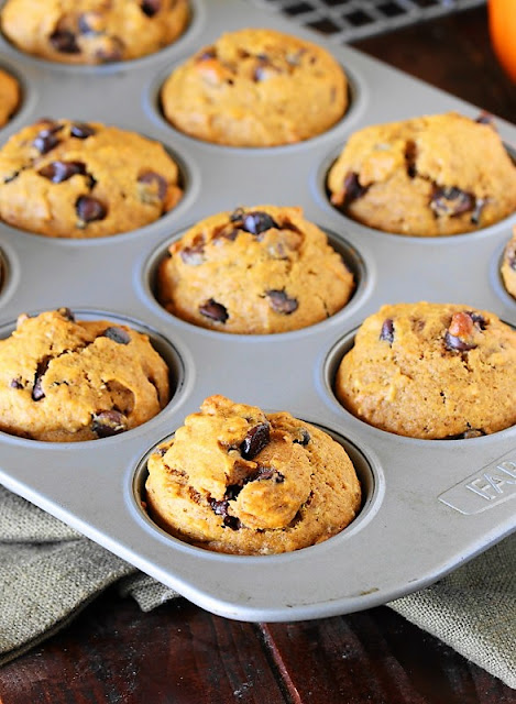 Chocolate Chip Pumpkin Muffins image