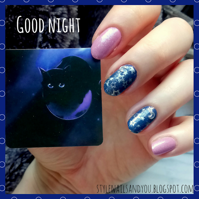 Good Night | Silver Moon Nail Studs | Born Pretty Store Review