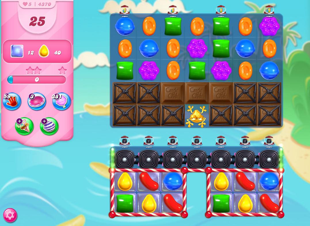 Candy Crush Saga level 4370