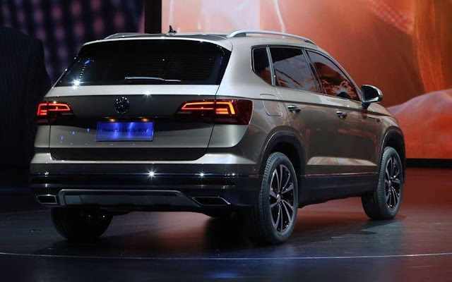 Volkswagen Tarek (Tharu) - concorrente do Jeep Compass