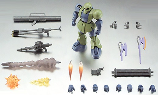 The Robot Spirits Side-MS MS-05 ZAKU I VER. A.N.I.M.E.- Tamashii Nations.