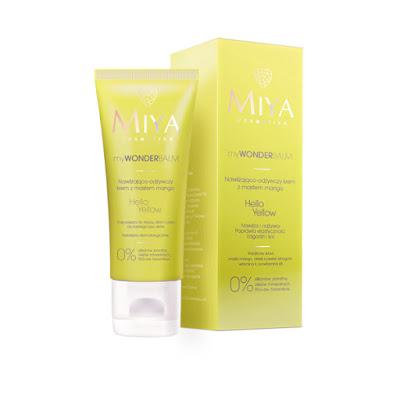 Miya Cosmetics  myWONDERBALM  Hello Yellow  krem nawilżająco-odżywczy  z masłem mango