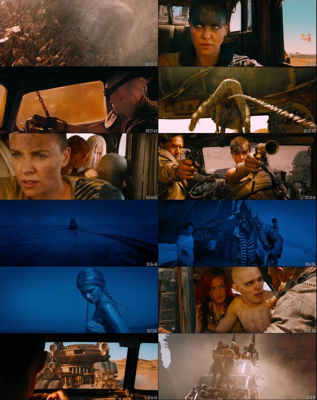 Mad Max Fury Road 2015 Dual Audio 720p ORG 950MB [Hindi - English] BluRay