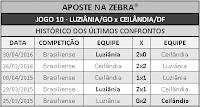 LOTECA 700 - HISTÓRICO JOGO 10