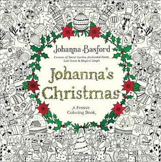 as cores do natal johanna basford livro de colorir para sextante johanna's christmas lançamento novidade previa por dentro conheça us usa estados unidos gringa importada importado