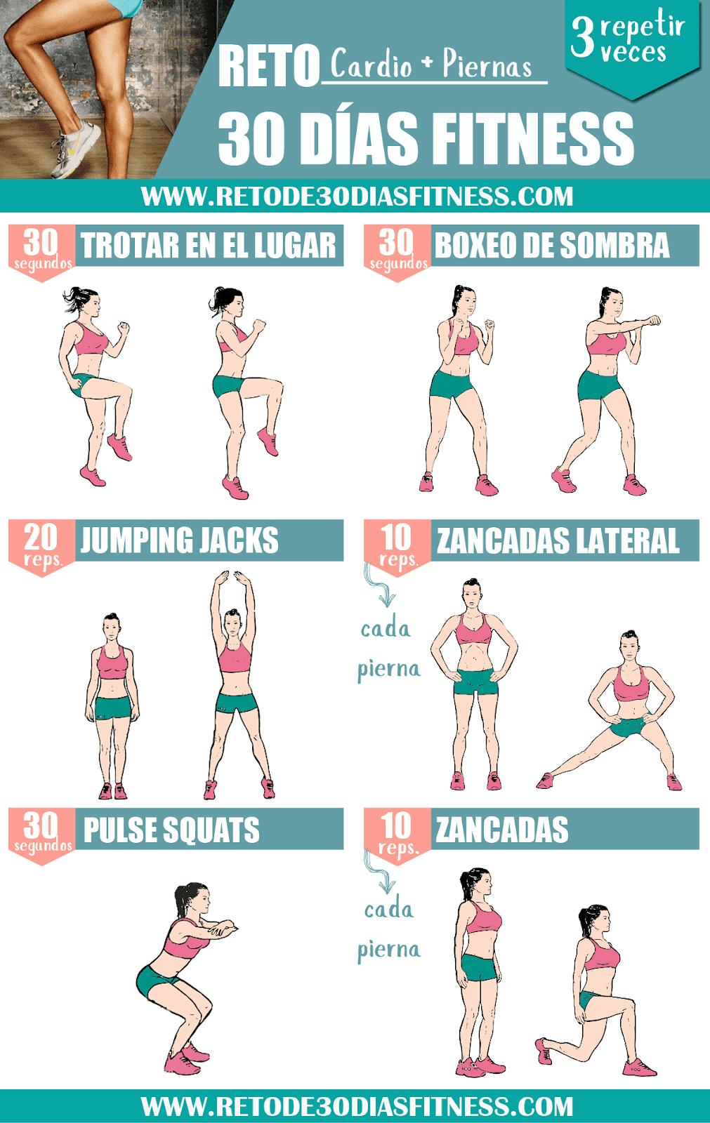 Rutina Cardio Mas Piernas Workouts Fitness Reto Fitness Ponte Fitness En Casa