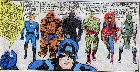 Fantastic Four Annual 5-Inhumans-BlackPanther