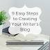 Social Media Week: 9 Easy Steps to Creating Your Writer's Blog