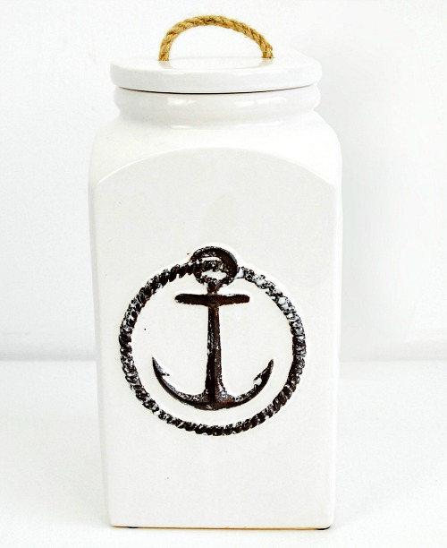 Nautical Cookie Jar