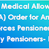 Fixed Medical Allowance (FMA) Order for Armed Forces Pensioners/ Family Pensioners- DESW