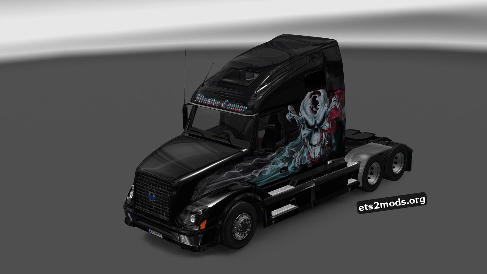 Illusive Convoy Skin for Volvo VNL670