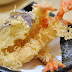Making Japanese Tempura Prawns, Vegetables