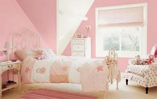 Habitación rosa niña