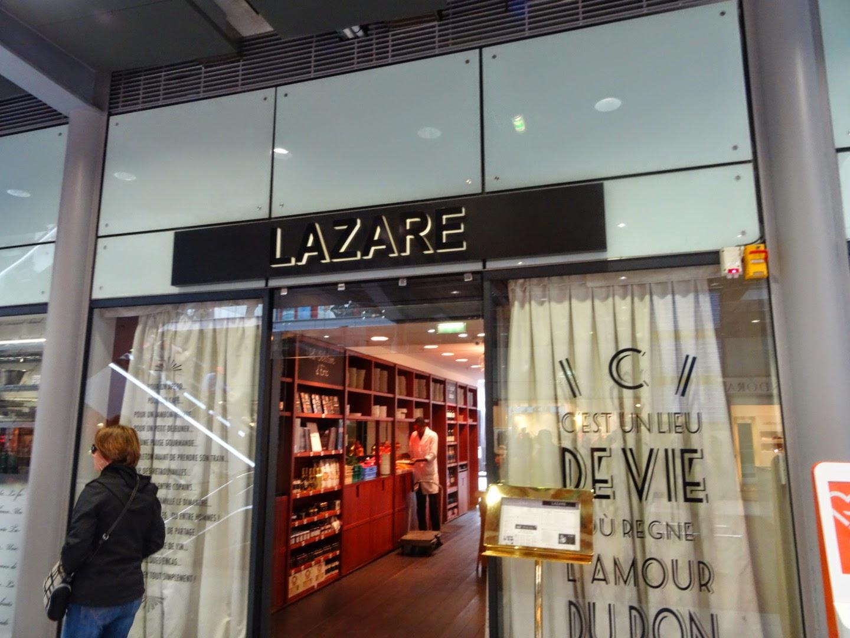 Entrée brasserie Lazare d'Éric Fréchon Paris 8 ème.