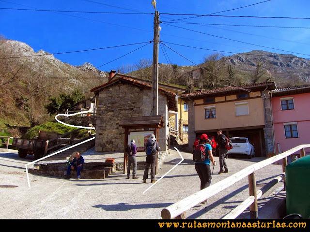 Ruta Requexón Valdunes, la Senda: Saliendo de Soto de Caso