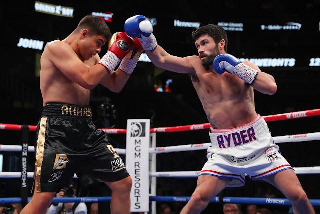 Bilal Akkawy Knocks Out John Ryder  In Three Rounds