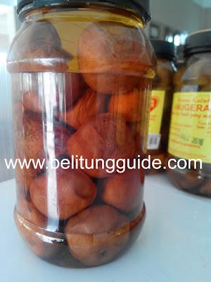 buah kelubi oleh - oleh khas bangka belitung