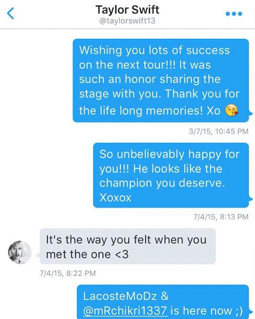 Hackean el Twitter de Taylor Swift y revelan mensaje privado donde habla de Calvin Harris (FOTO)