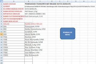 Input Data Perpustakaan Sekolah