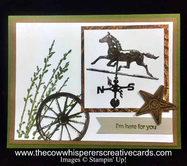 Card, Country Road, Subtle Embossing Folder, Rustic, Wood Textures