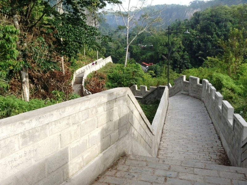 Janjang Koto Gadang Tembok Cina Nya Sumatera Barat Pesona Keindahan Alam Indonesia