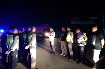Selama Ramadhan, Polres Lampung Timur  Giat Patroli Subuh dan Bangunkan Sahur