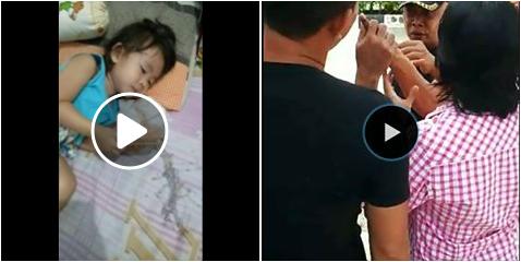 Nenek Ini Posting Video Cucunya Muntah-muntah Akibat Industri Krum Di Rumahnya
