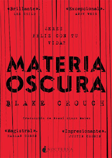 Materia oscura, Blake Crouch
