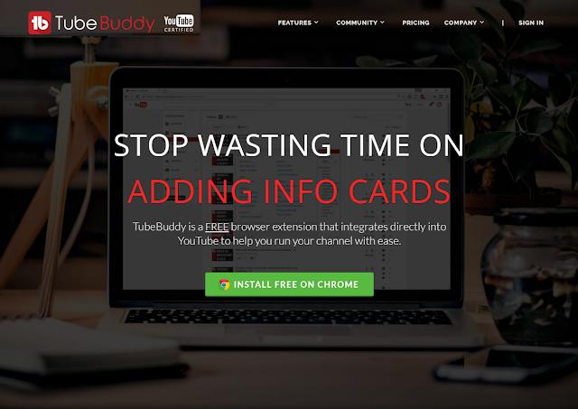 TubeBuddy : أفضل أداة لليوتيوبرز لادارة حسابات اليوتيوب وإشهارها