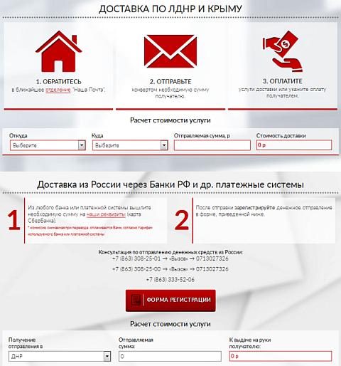 Как перевести деньги из ДНР/ЛНР из России?