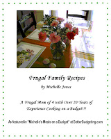 Save money with our frugal cookbook!