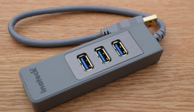 Inateck 3-port USB Hub and KM Switch Giveaway