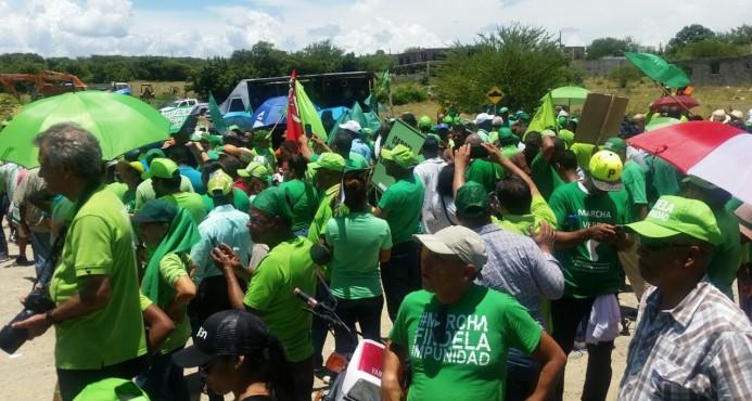 La Marcha Verde no se opone a que se concluya planta Punta Catalina