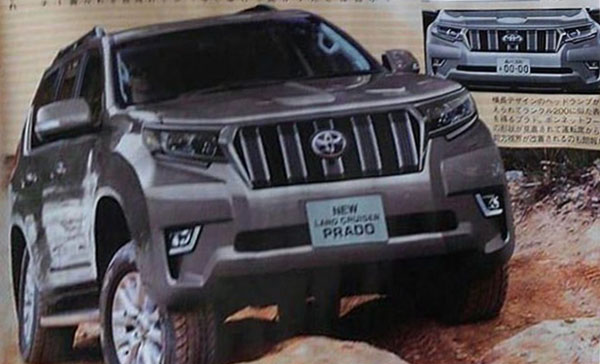 Burlappcar: 2018 Toyota Land Cruiser Prado