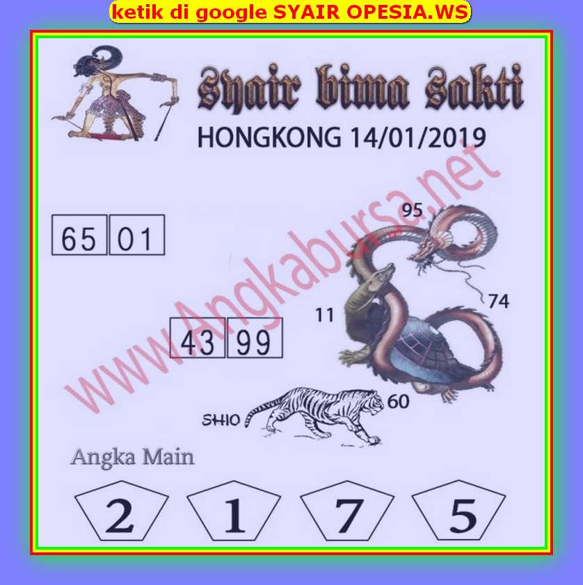 Kode syair Hongkong Selasa 14 Januari 2020 112