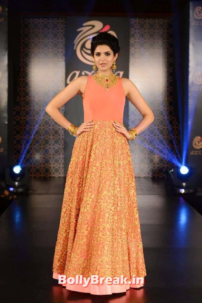 , Tollywood Heroine Deeksha Seth Pics in Orange Dress from Guwahati
