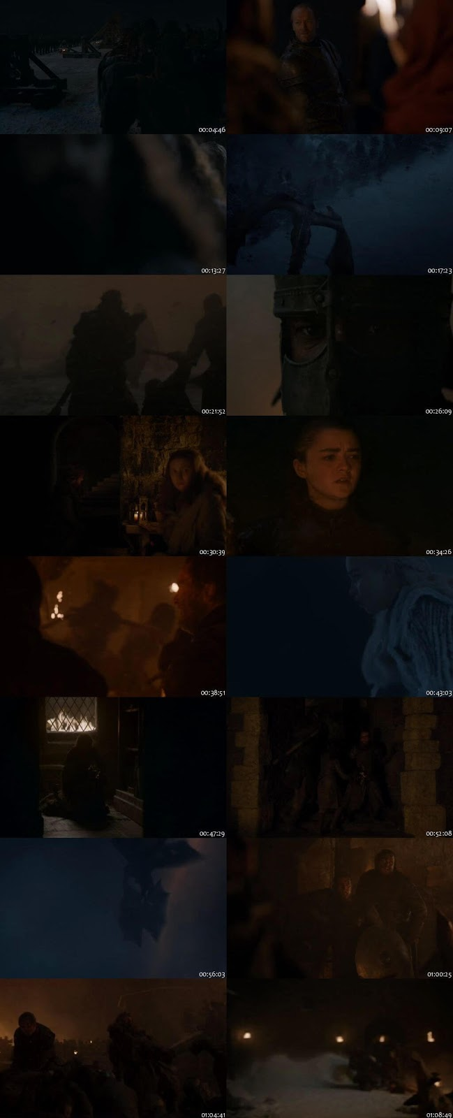 Game Of Thrones S08 English 480p 720p 1080p WEB-DL Download