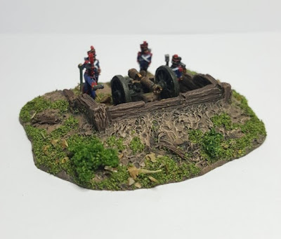 10EW001 Timber lined Emplacement 30mm Insert