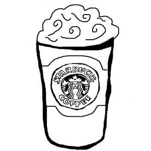 starbucks coloring pages Cup Of Starbucks Coffee Coloring Page   Free Printable Coloring  starbucks coloring pages