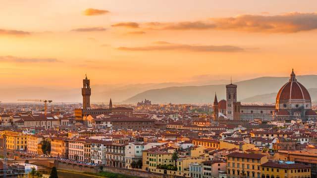 Outras regiões para ficar em Florença