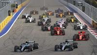 Grand Prix Rosji start F1 2018